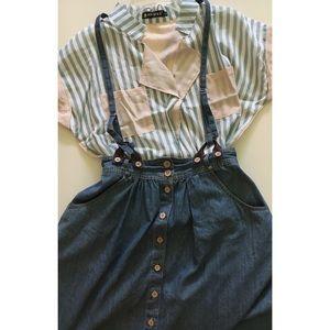 Striped lightweight blouse